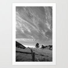 Sky Change Art Print