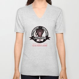 Gift for Lacrosse Mom aka The Fixer Unisex V-Neck