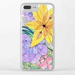 Botanica I Clear iPhone Case