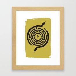 Rat Race Framed Art Print