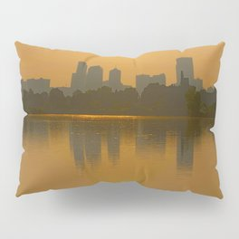 Come Sit With Me At Sloan Lake Downton Denver Colorado Pillow Sham