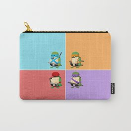 Turtles in Disguise Carry-All Pouch