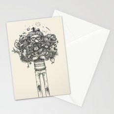 My beard... an amazing thing Stationery Cards
