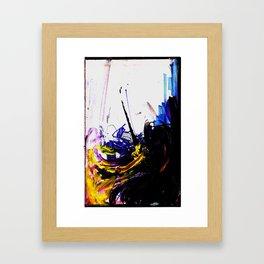 Loose Lips Framed Art Print
