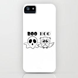 Funny & Cool Halloween Costume Tee Boo Hoo iPhone Case