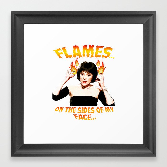 Clue Madeline Kahn Mrs White Flames on the Sides of my Face Framed ...