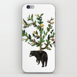 The wind is in the trees, the trees have its brances, the branches have its leaves iPhone Skin