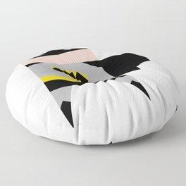 simpleheroes BAT-MAN fan art Floor Pillow