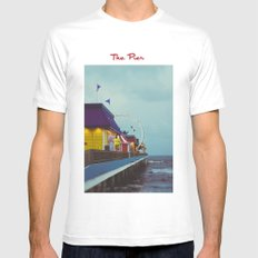 The Pier MEDIUM Mens Fitted Tee White
