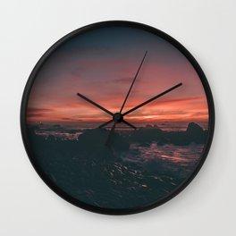 California Sunset II Wall Clock