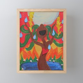 Singing Tree Framed Mini Art Print