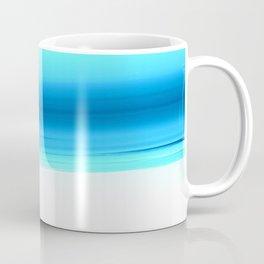Turquoise Aqua Ombre Coffee Mug