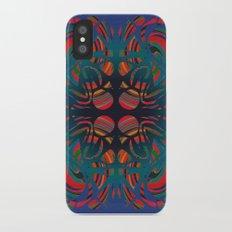 Stone spirals iPhone X Slim Case