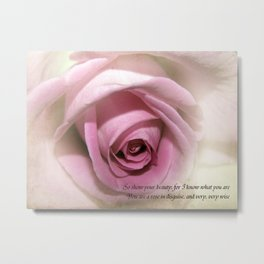 So Show your Beauty Metal Print
