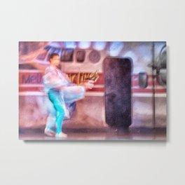 Sensuel dancers Metal Print