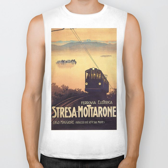 Vintage poster - Stresa-Mottarone Biker Tank