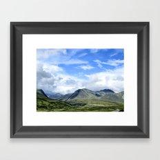 Rondane - Norway Framed Art Print