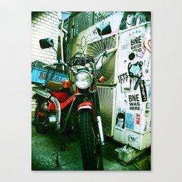 harajuku bike Canvas Print