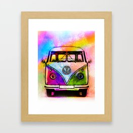 Hippie Adventures Framed Art Print