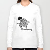 70s Long Sleeve T-shirts featuring 70s surfer by terezamc.