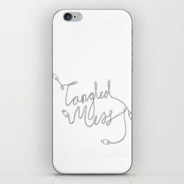 Tangled Mess iPhone Skin