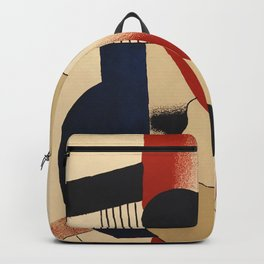 Fernand Léger -  Exhibition poster Berggruen 1979 Backpack