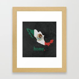Mexico Proud Framed Art Print