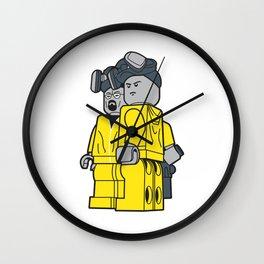Breaking Bad Lego Characters Wall Clock