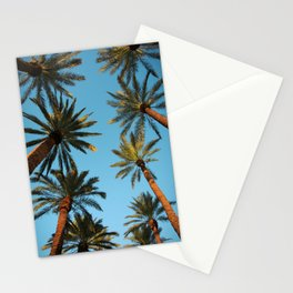 Palm trees, Vegas Stationery Cards