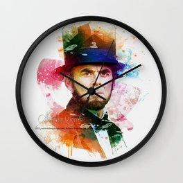 Digital Artwork 5 Wall Clock