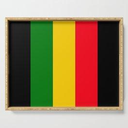 Rastafari Colors Serving Tray