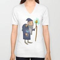 wiz khalifa V-neck T-shirts featuring The Wiz II by Cody Weiler