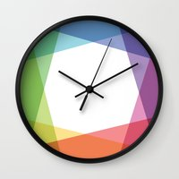 fig Wall Clocks featuring Fig. 001 by Maps of Imaginary Places