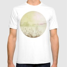 Planet  21001 White Mens Fitted Tee SMALL