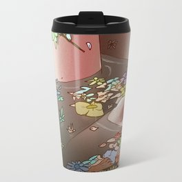 Flower Bath 3 Travel Mug
