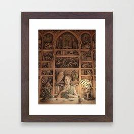Magpie Framed Art Print