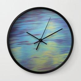 Mountain Water Art Wall Clock