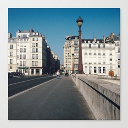 Perfect Day in Paris - Ile Saint Louis Canvas Print