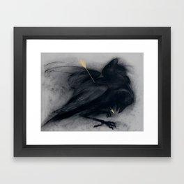 Death of insight Framed Art Print