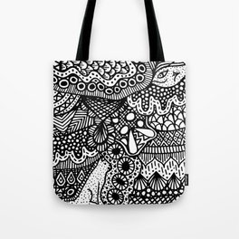 Doodle 13 Tote Bag
