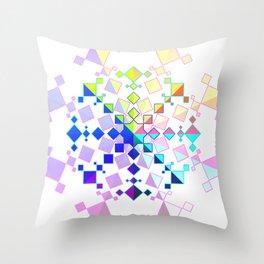 Kaleidoscopic Pride Throw Pillow