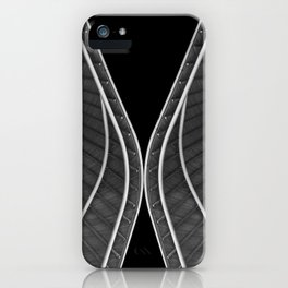 Waving roofs iPhone Case