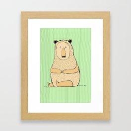 Mr R Framed Art Print