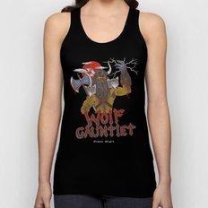 Wolf Gauntlet Unisex Tank Top
