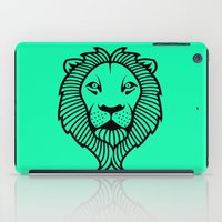 the lion king iPad Cases featuring Lion King by ArtSchool