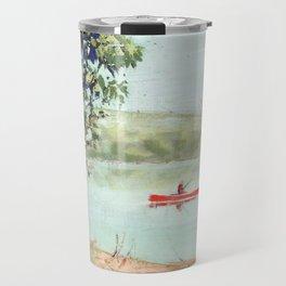 fishing - by phil art guy Travel Mug