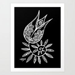 White Flower 131 Art Print