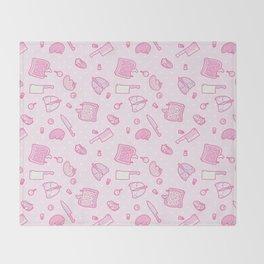 Sweet Yandere (Pink) Throw Blanket