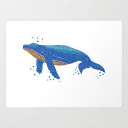 Spot A Whale Art Print