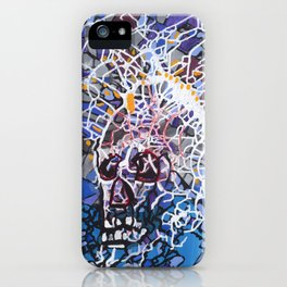 Electric Skull iPhone Case